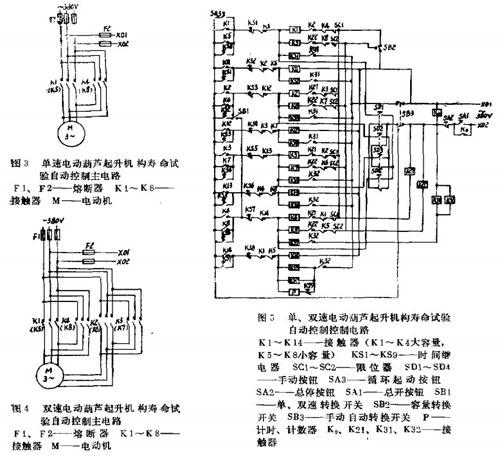 寿命试验的自动控制电路